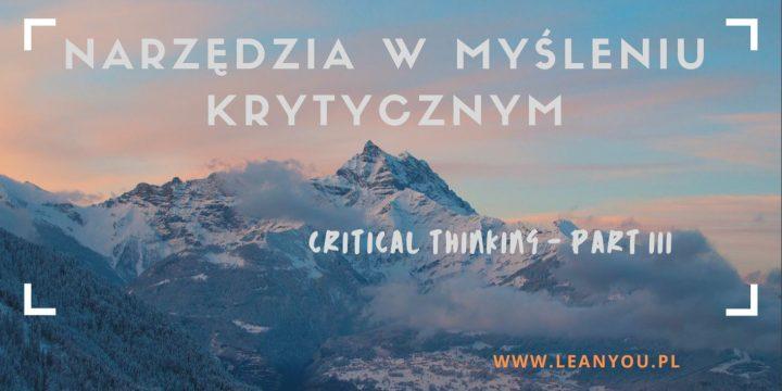 Myślenie krytyczne i techniki wspomagające